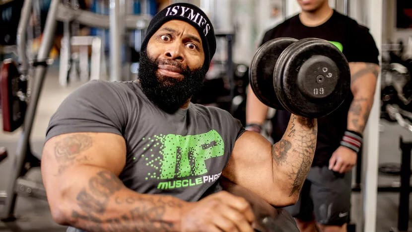 CT Fletcher simply commands his muscles to grow.