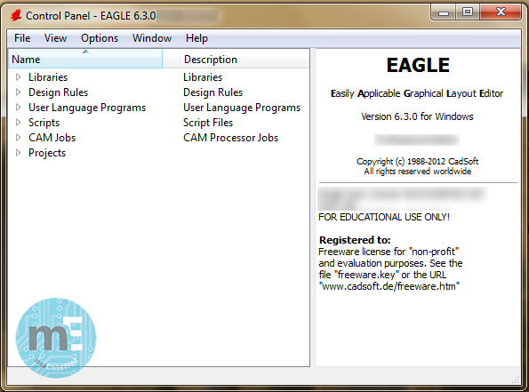 PCB Design using EAGLE - Part 1: Introduction to EAGLE and Software