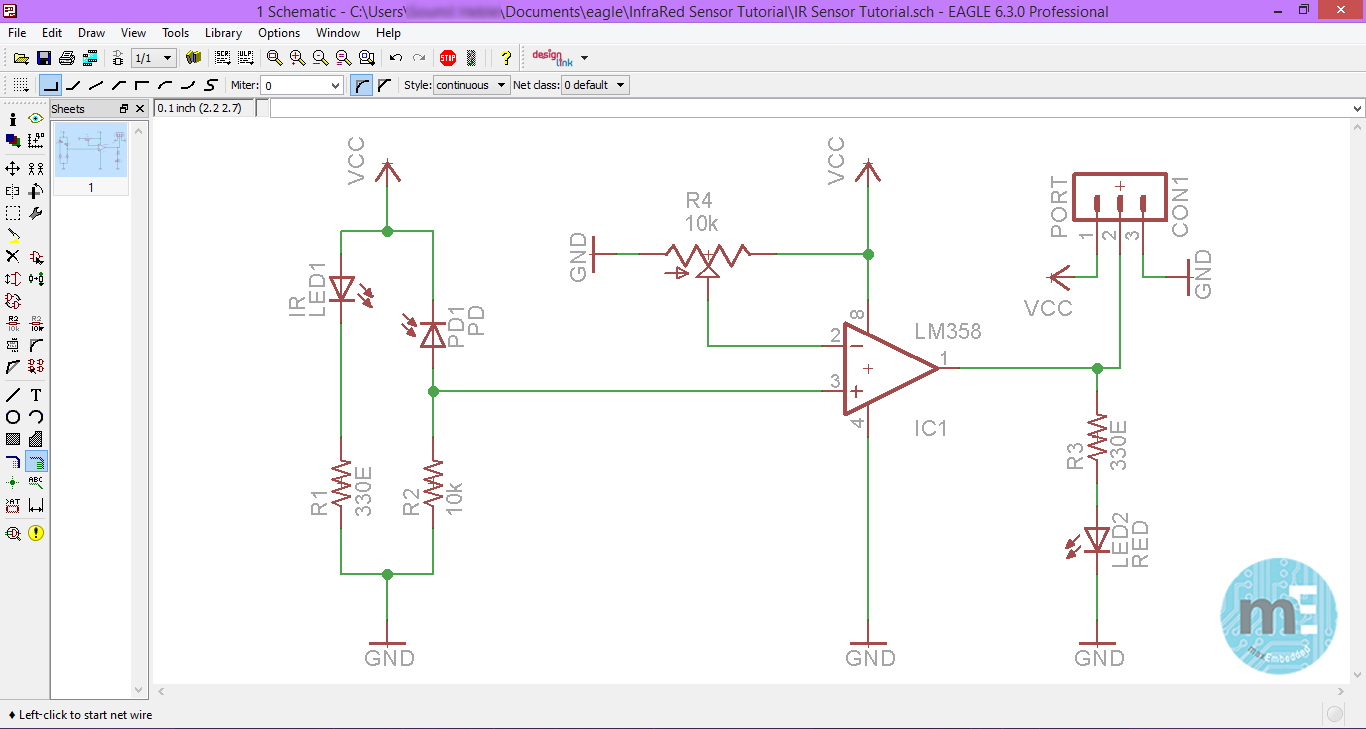 Pcb Design Using Eagle  U2013 Part 2  Using The Eagle Schematic Editor  U00bb Maxembedded