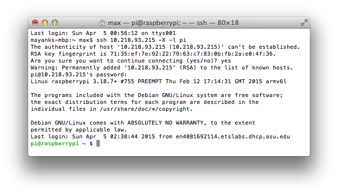 SSH with X11 Forwarding - Mac/Linux