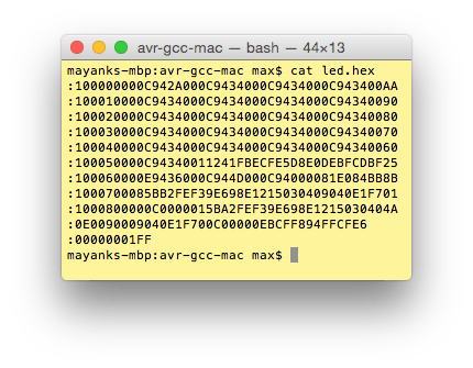 Final Hex File