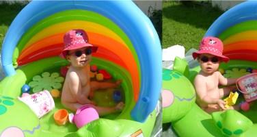lilo-piscine