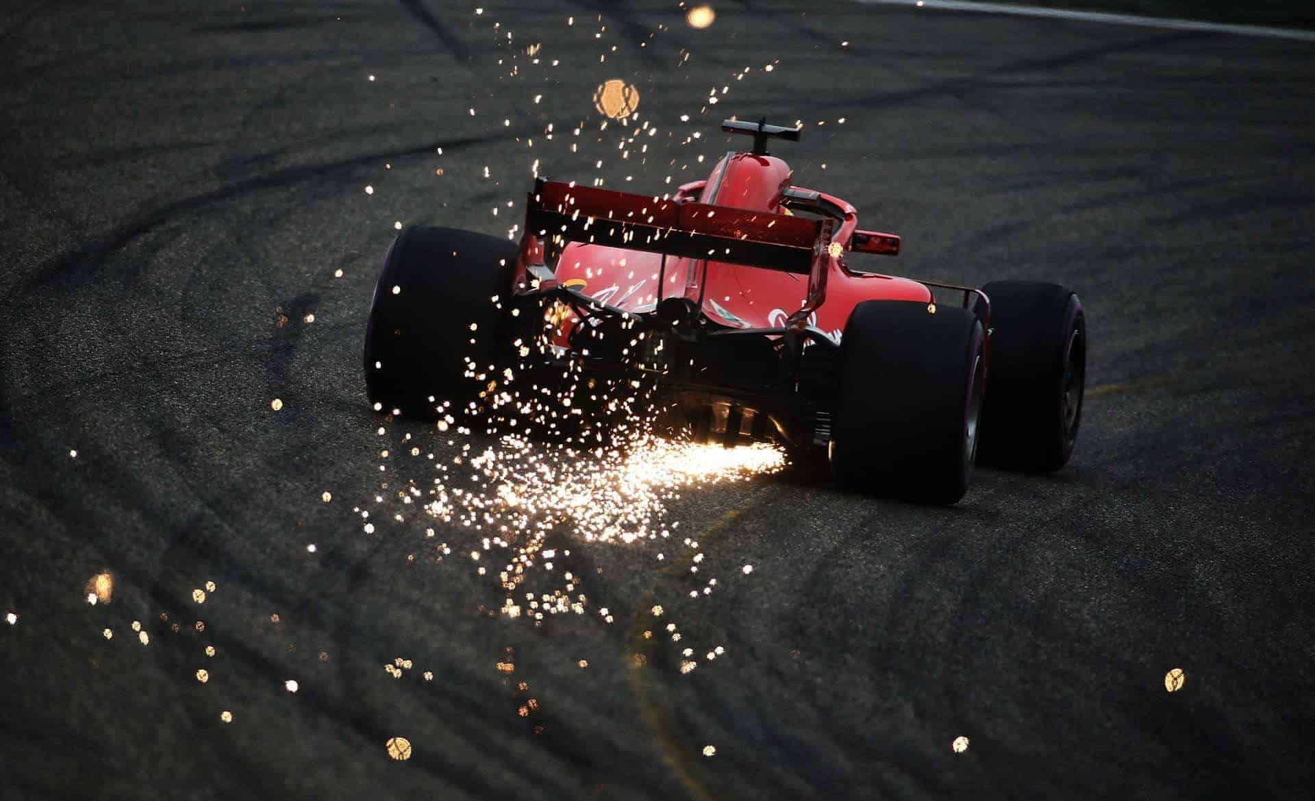 2018 Chinese GP Qualifying Ferrari Fastest On All Parts