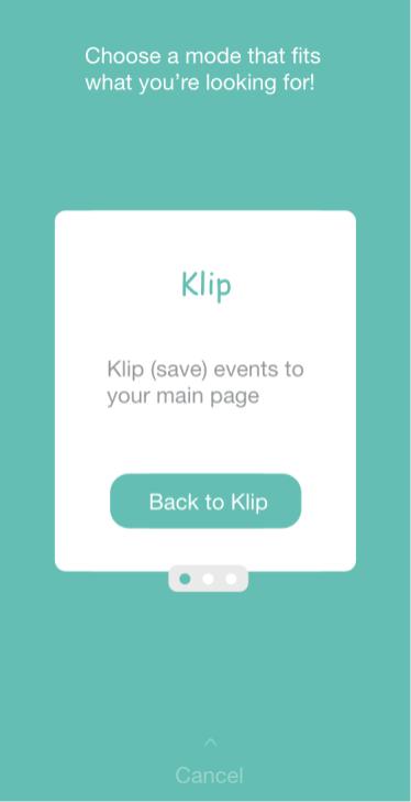Klip-Mode
