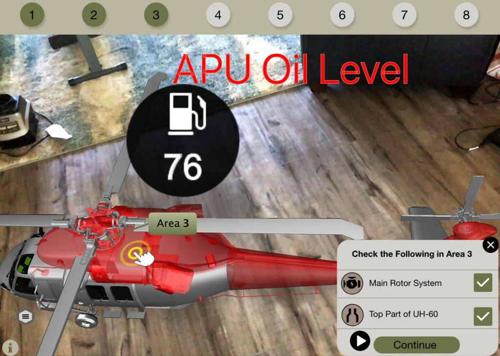 Simulating IoT Data with APU Oil Level