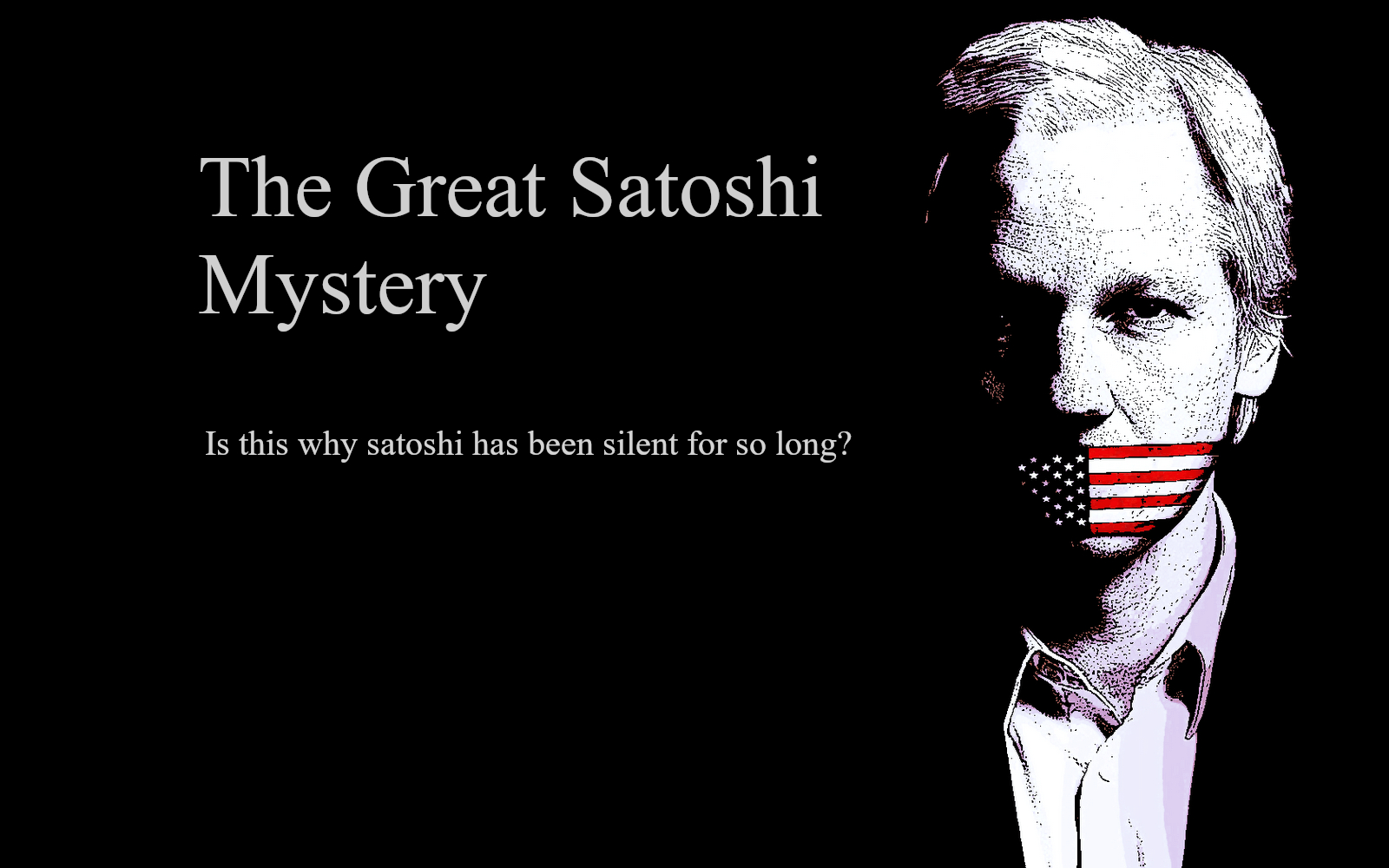 julian assange & the great satoshi mystery