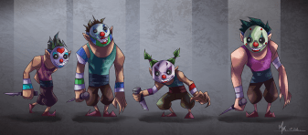 Clown Soldiers