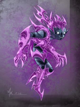 Ray_Lightning Spirit Form