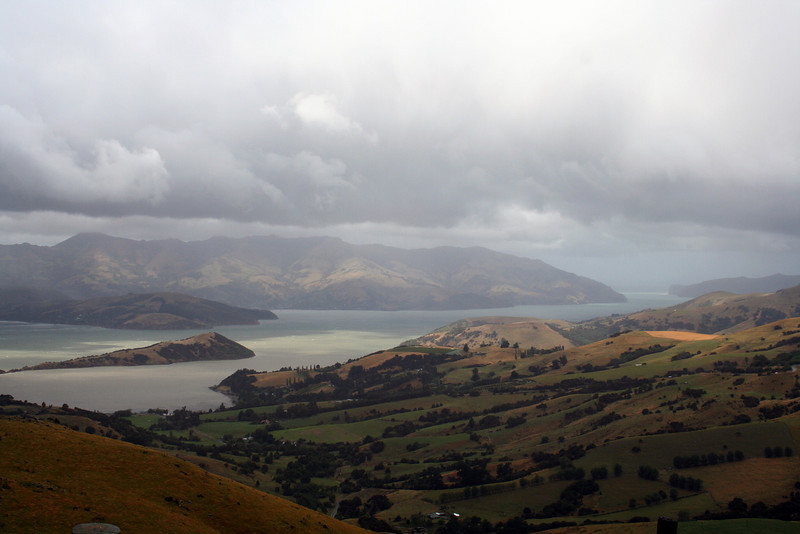 Akaroa, Banks Peninsula. South Island