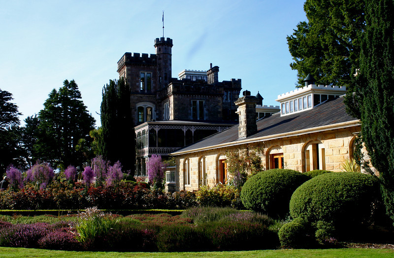 Larnach Castle, Dunedin. South Island