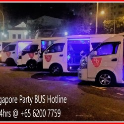 Singapore Party Bus Booking Hotline