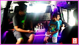 book party bus for your kid's birthday