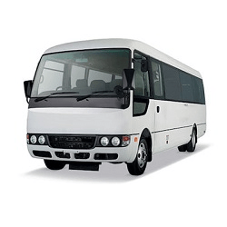 Shuttle bus airport transport