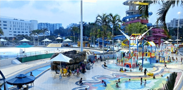 Jurong East SC 2 300x148 Jurong East Swimming Complex in Singapore