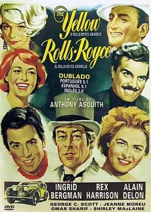 """Cartaz do filme """"O Rolls Royce Amarelo"""