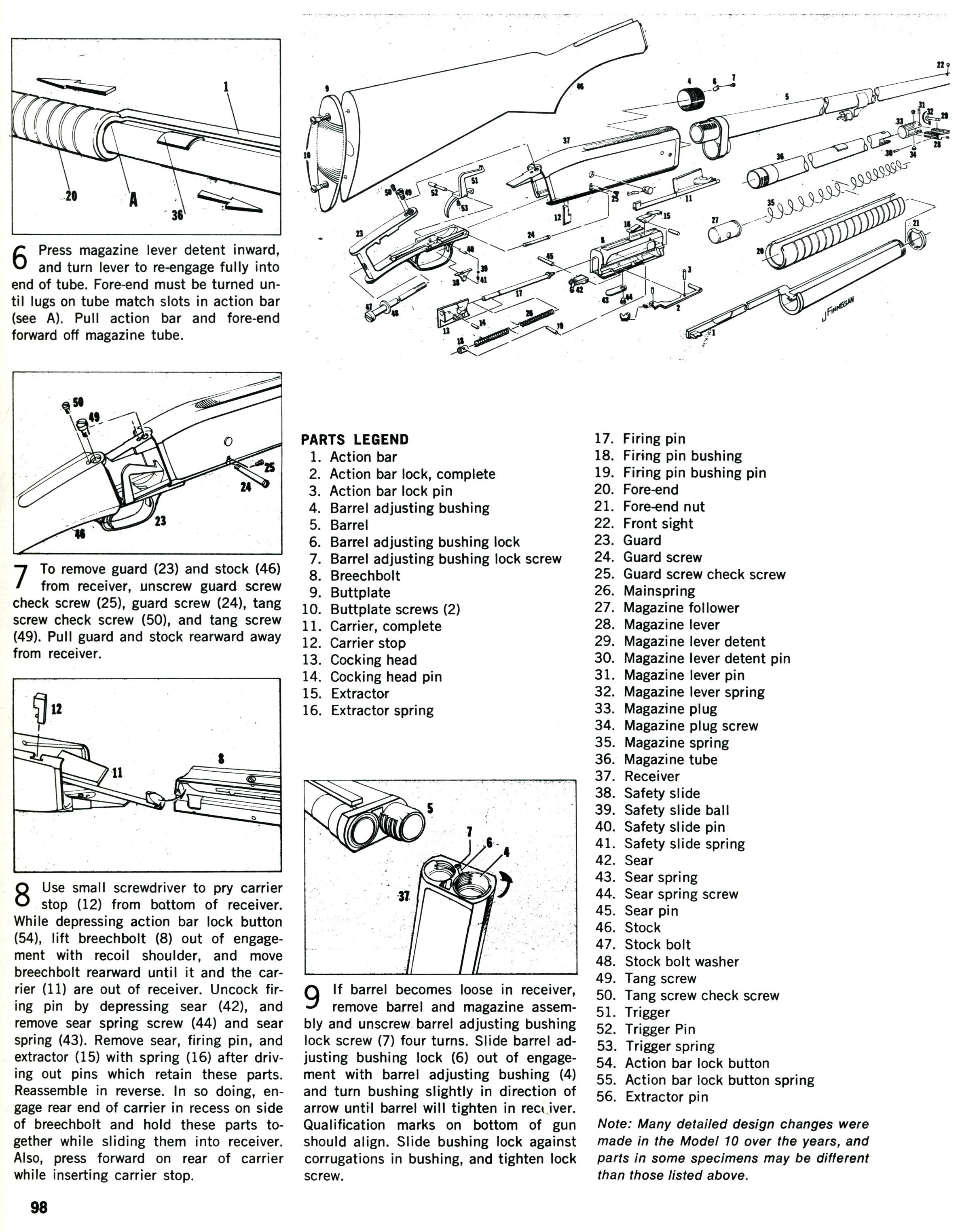 Remington Model 10 Shot Gun C Amp R