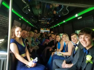 Chelmsford Prom Party Bus
