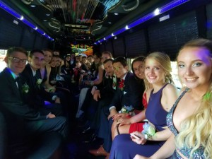 Lynch Park Beverly Prom Bus