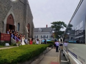 Gloucester Wedding Party Bus
