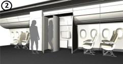 plane change room
