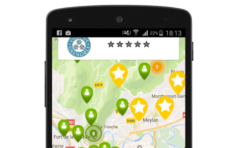 """Xamarin.Android – Grouping Google Map markers with """"Clustering"""""""