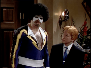 Sinbad as Black Lightning on SNL
