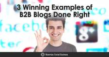 3 Winning Examples of B2B Blogs Done Right