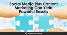 Social Media Plus Content Marketing Can Yield Powerful Results