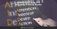 Applying AIDA for B2B Branding in Social Media