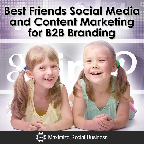 Best Friends: Social Media and Content Marketing for B2B Branding Content Marketing  Best-Friends-Social-Media-and-Content-Marketing-for-B2B-Branding-V3