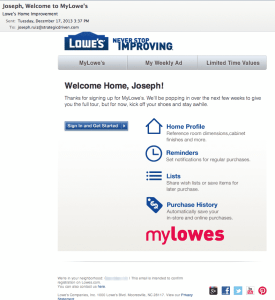 How Lowe's Is Creating an Engaging Customer Experience SoLoMo  Lowes5-275x300