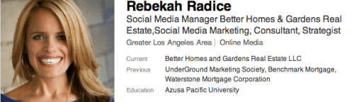 How to Use LinkedIn to Boost Your Real Estate Business Social Media for Real Estate LinkedIn  rebekah-radice-social-media-linkedin1