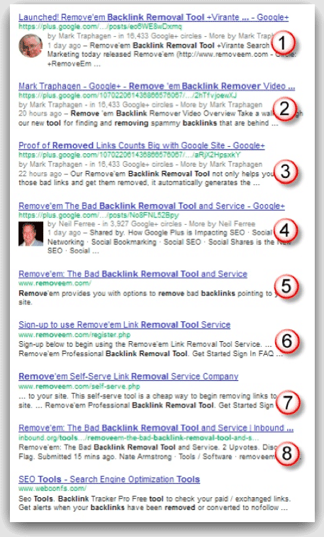Google Plus SEO: Everybody Talks About It - How Do You DO It? Google Plus SEO (Search Engine Optimization)  removeem-search-results