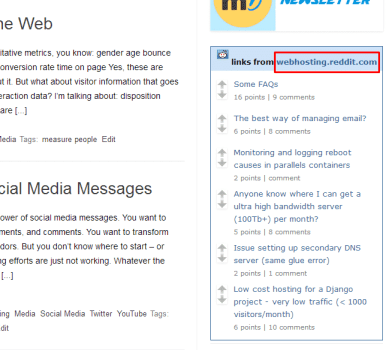How to Install and Get the Most from reddit Tools Reddit  webhosting-widget