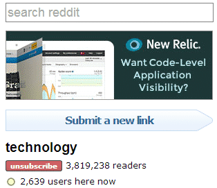 The Complete Guide to Advertising on reddit Reddit  reddit-ad-new-relic-2