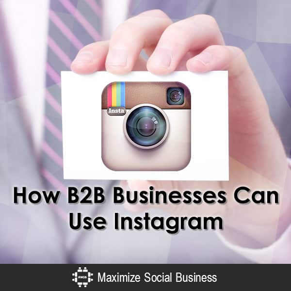 How B2B Businesses Can Use Instagram Instagram  How-B2B-Businesses-Can-Use-Instagram-600x600-V2