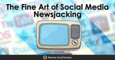 The Fine Art of Social Media Newsjacking