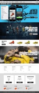 Creating an Engaging Customer Experience In A Socially Connected Marketplace Customer Experience Marketing  Nike-Riskeverything1-128x300