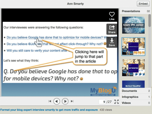 5 Tips for Awesome Slideshare Content Inspiration SlideShare  slideshare-content-05