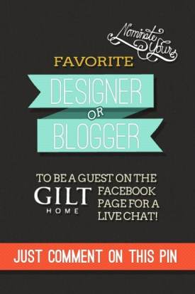 7 Ways to Host a Killer Contest on Pinterest Pinterest  gilt-guest-facebook-live-chat-wishpond