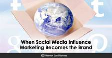 When Social Media Influence Marketing Becomes the Brand