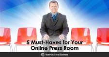 5 Must-Haves for Your Online Press Room