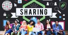 10 Killer Ways to Get Your Nonprofit Shared on Social Media sharing social media technology innovation concept