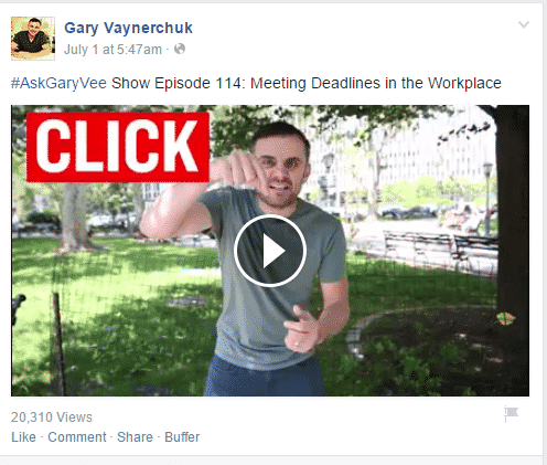 How to Optimize Facebook Video Facebook  gary-vee-show