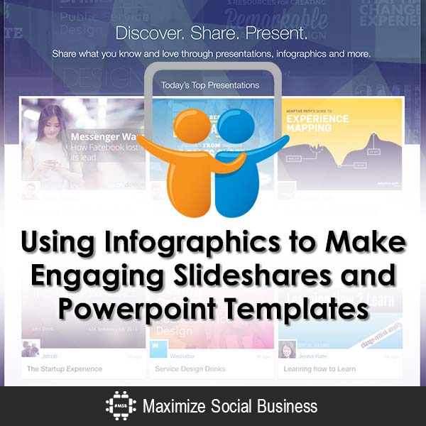how to use infographics to make engaging slideshares powerpoint