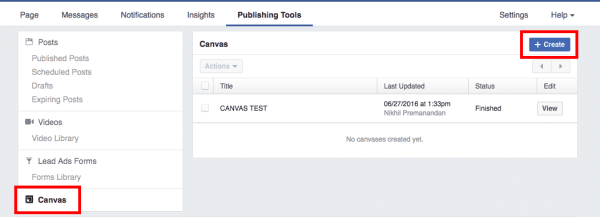 Facebook Canvas Is the New Way To Advertise Facebook  facebook-canvas-option-600x217