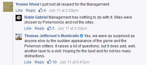 Thomas Jefferson Monticello Pokemon Go