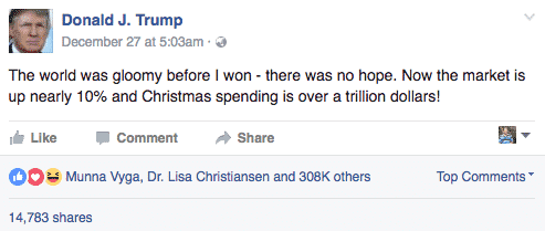 Donald Trump Gives A Personal Touch To His Posts