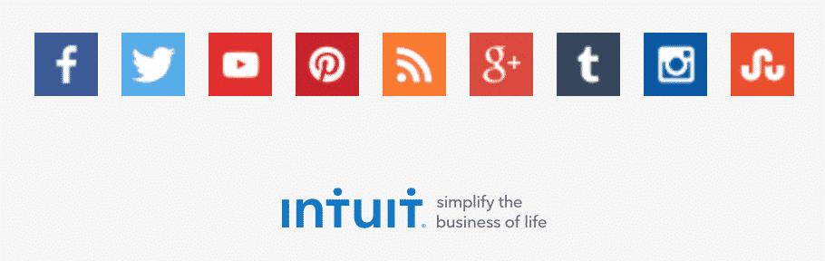 TurboTax provides multiple social media channels