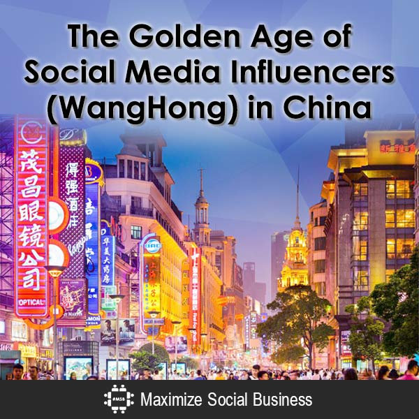 The Golden Age of Social Media Influencers (WangHong) in China